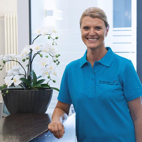 Mitarbeiterin von Dr. Schröder Zahnarzt aus Ulm